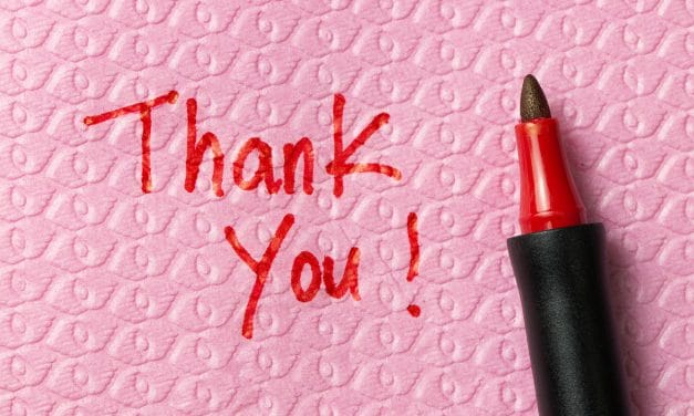 The lifesaving power of gratitude (or, why you should write that thank you note)